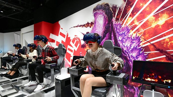 Godzilla VR Experience in London