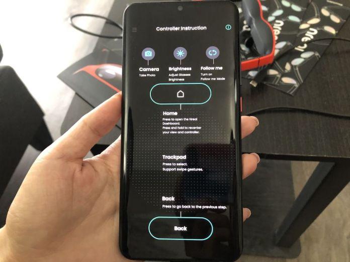 An intuitive 3D UI