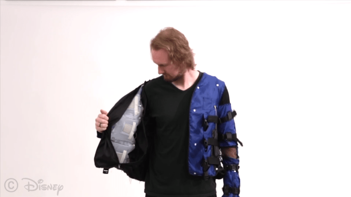 Pneumatically Actuated Disney Force Jacket