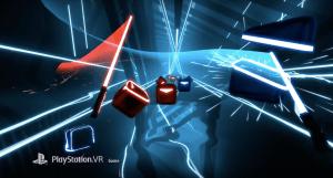Beat Saber on PlayStation VR