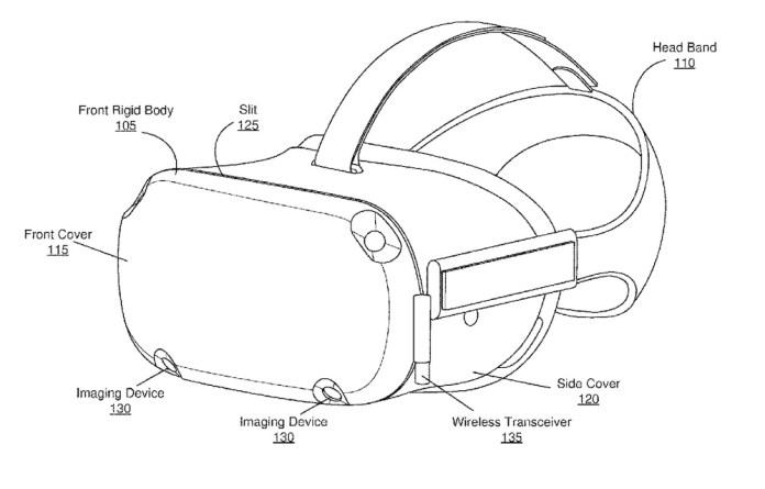 Oculus Quest Wireless Receiver Patent