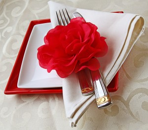 Romantic Touch to Your Open House