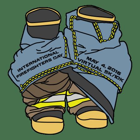 Firefighter medal