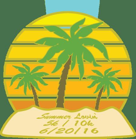 Summer Lovin' medal