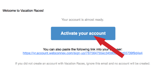 Activate your account image