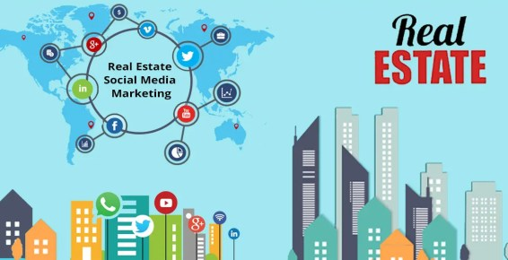 Use Social Media for Real Estate Website Marketing