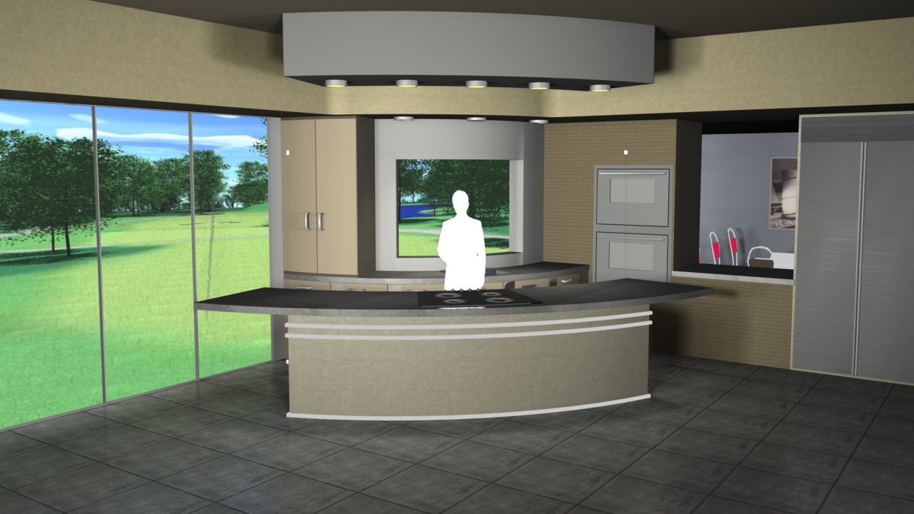 virtual kitchen shaker style cabinet hardware set studio 120 for 4k is a and dining room with view