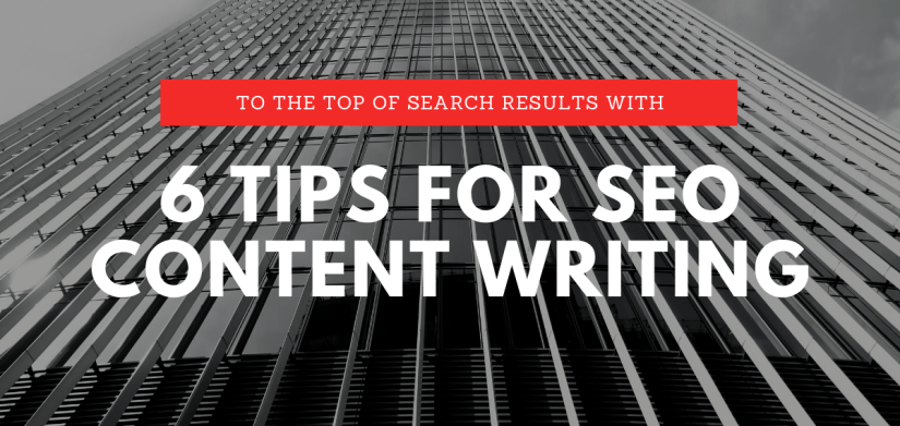 6 tips for seo content writing