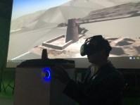 """""""Wadi Al Helo VR - Eine virtuelle Reise zu den archäologischen Überresten im Wadi Al Helo"""", ein Forschungsprojekt der American University Sharjah und der New York University Abu Dhabi in Zusammenarbeit mit Pablo Dornhege, Foto: Felix Beck"""