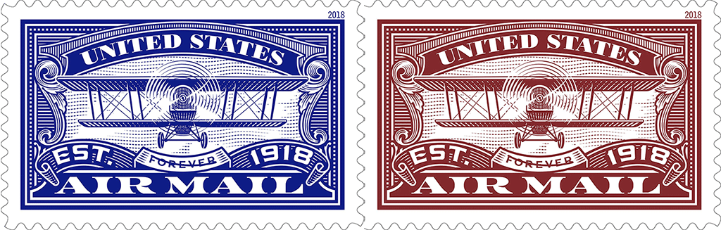 united states airmail u