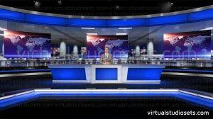 studio virtual sets wide screen 4k