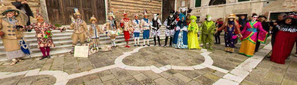 Carnevale di Venezia Church of San Lorenzo