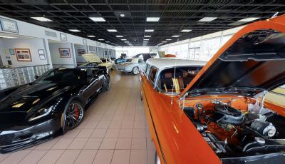 Bill Kay Corvette and Classic Cars 3D Model
