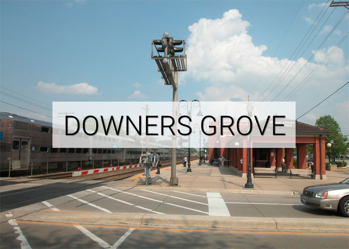 Downers Grove Village in Illinois