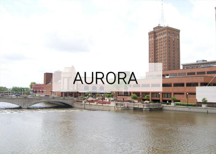 Aurora City in Illinois