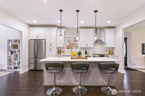 real Estate Photography, contemporary kitchen