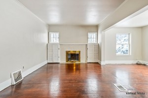 empty room without furnishings