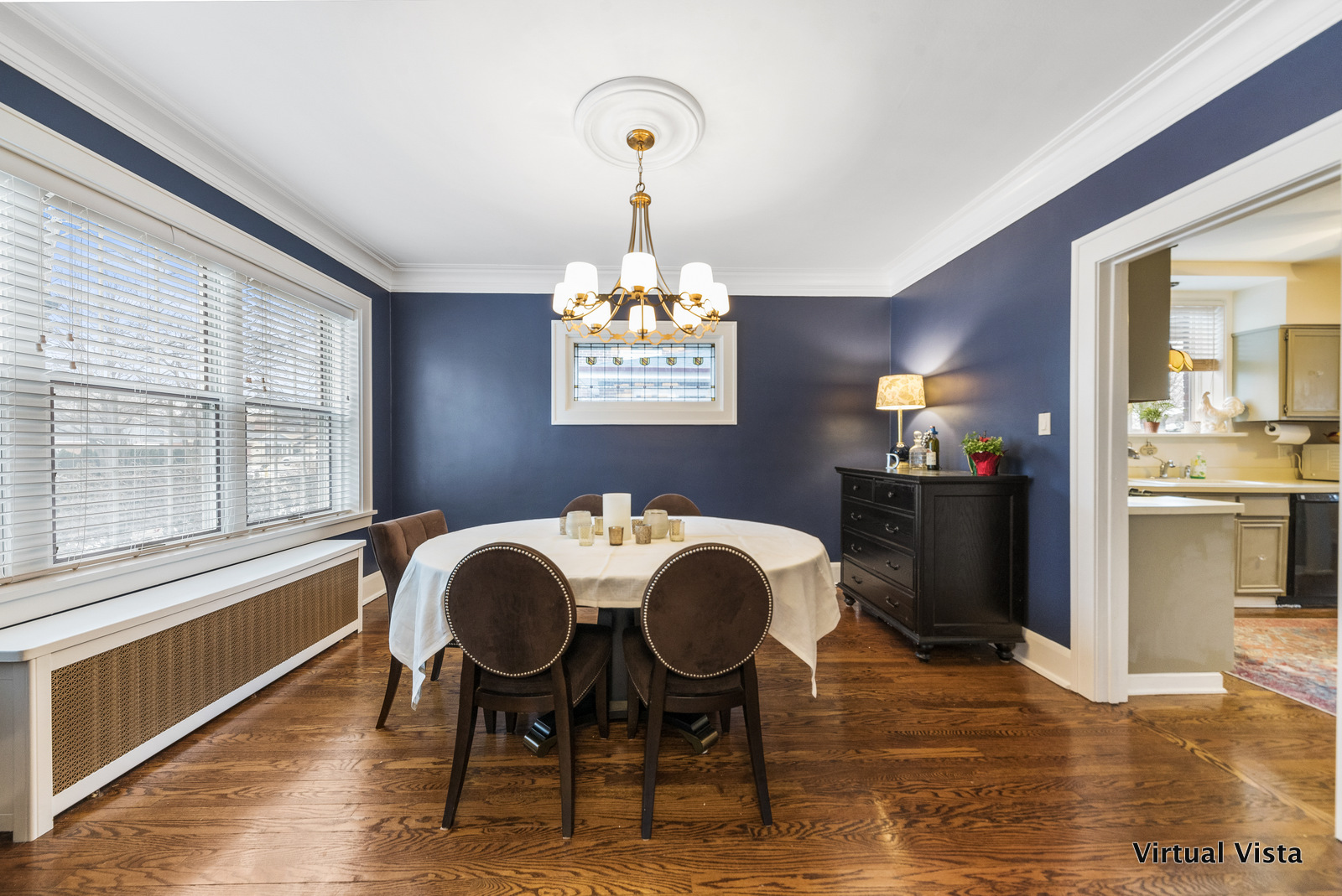 Professional Photo of Dining Room