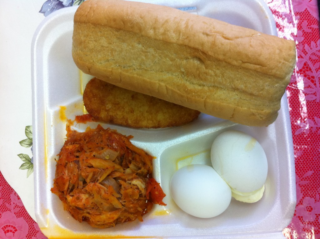 HOVENSA: Cafeteria Crucian Breakfast