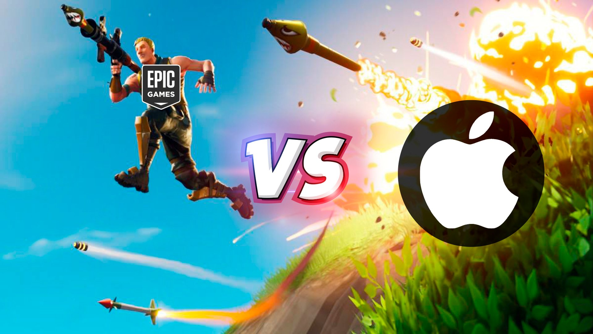 batalla EPIC VS APPLE