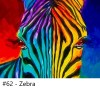 Painting, art, Zebra, zoom class, video Conferencing, class, instruction, virtual, Groups, Birthday Party