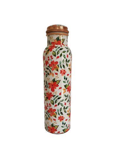 Health Mechanic Orange Flower Copper Bottle 1000ml