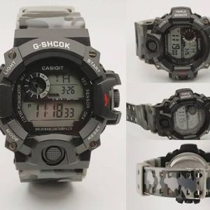 Army Silicone Strap Digital Watch For Men