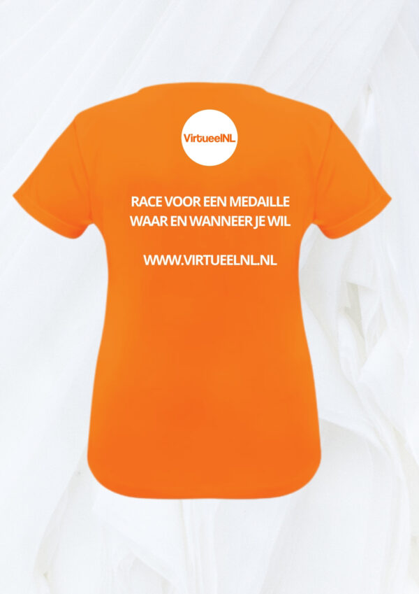 Sport shirt VirtueelNL dames back