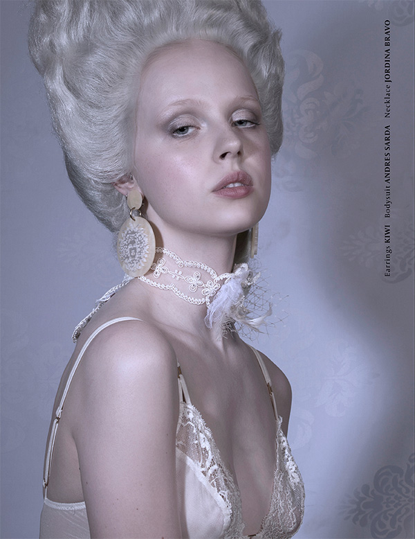 Rococo Style Fahion Editorial by Mario Chocron | VGXW