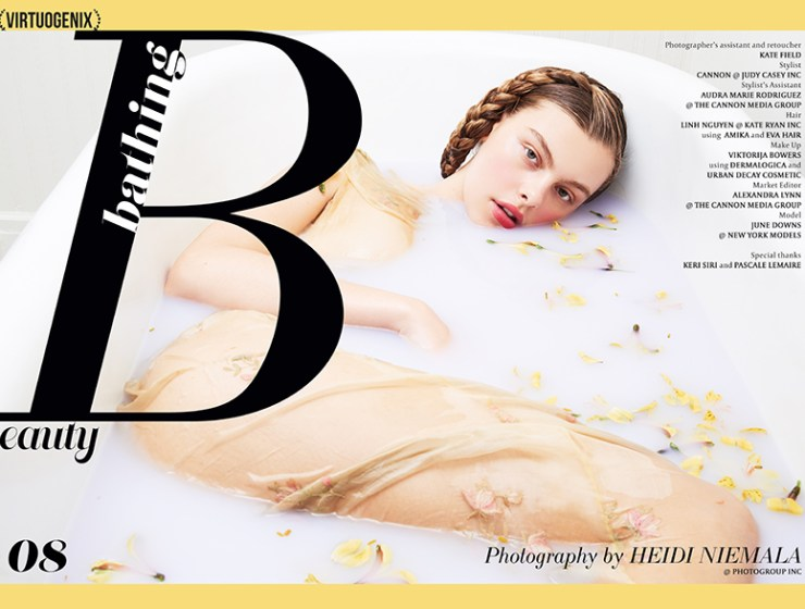 Bathing Beauty by Heidi Niemala | via VIRTUOGENIX Magazine