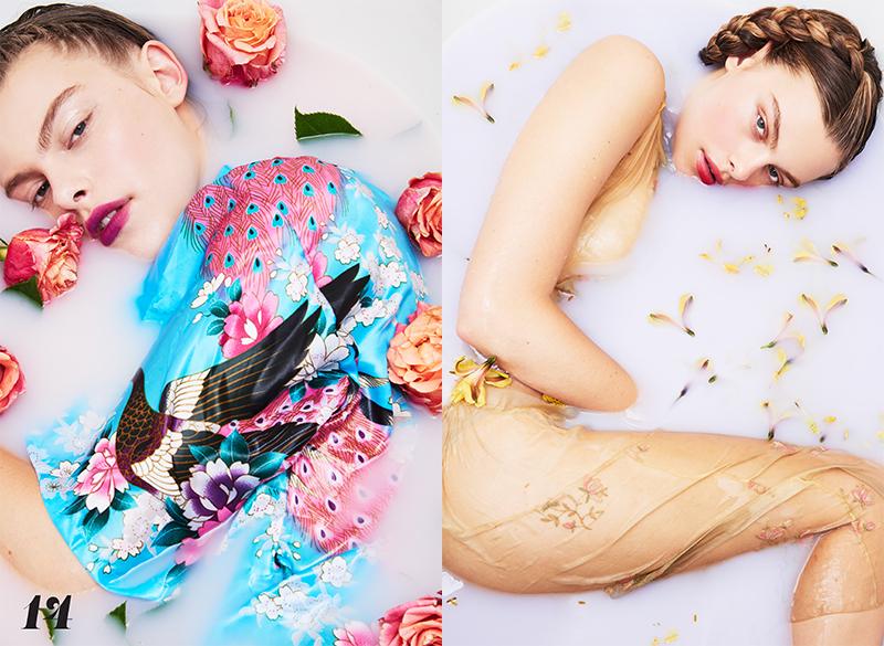 Bathing Beauty by Heidi Niemala | via VIRTUOGENIX Magazine