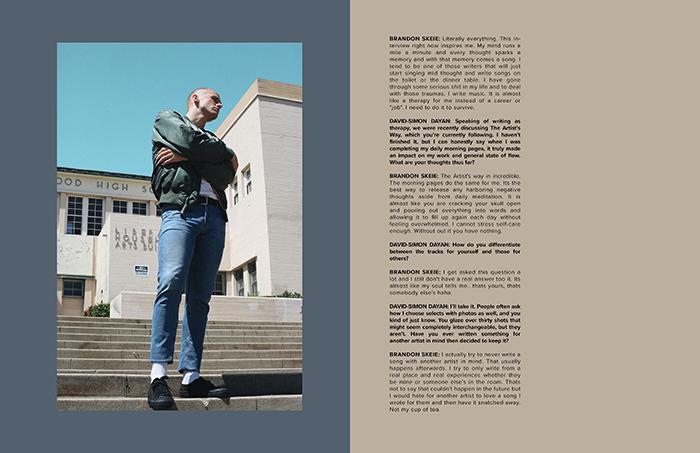 Interview with musician Brandon Skeie by David-Simon Dayan | VGXW Magazine
