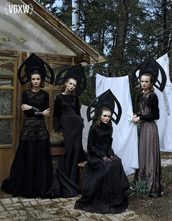 Olga, Tatiana, Maria, Anastasia by Daria Belikova | VGXW