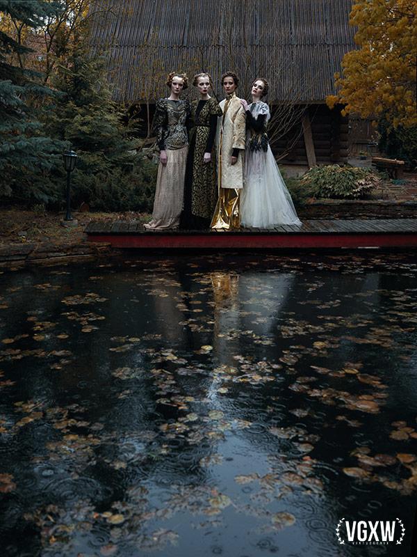 Romanov Family: Olga, Tatiana, Maria, Anastasia by Daria Belikova | VGXW