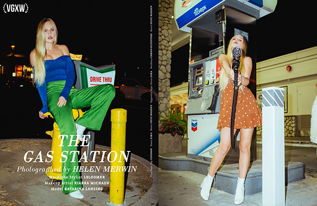 Fashion Editorial by Helen Merwin for December 2017 Book 2 | virtuogenix.online