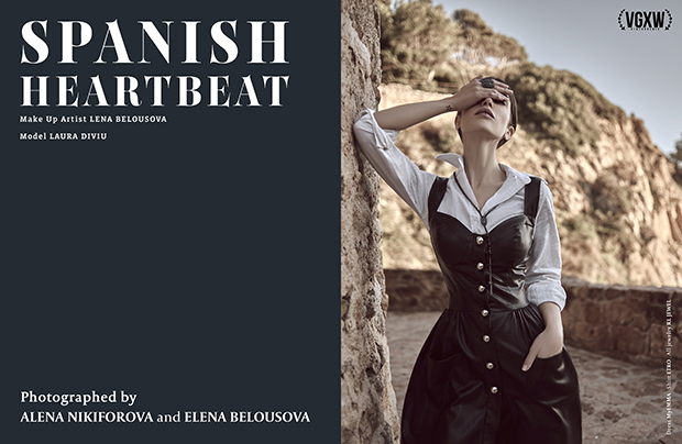 [Fashion Editorial] Spanish Heartbeat: Laura Diviu by Alena Nikiforova and Elena Belousova for VGXW Magazine | virtuogenix.online