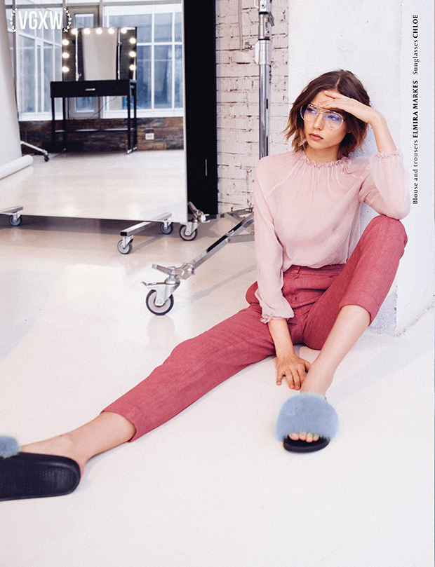 [Fashion Photography] Shades of a Girl by Yulia Kovaleva for VGXW Magazine | virtuogenix.online