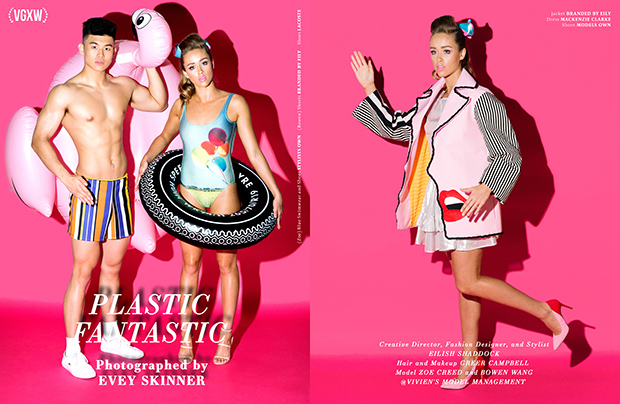 Barbie and Ken summer style editorial by fashion photographer Evey Skinner