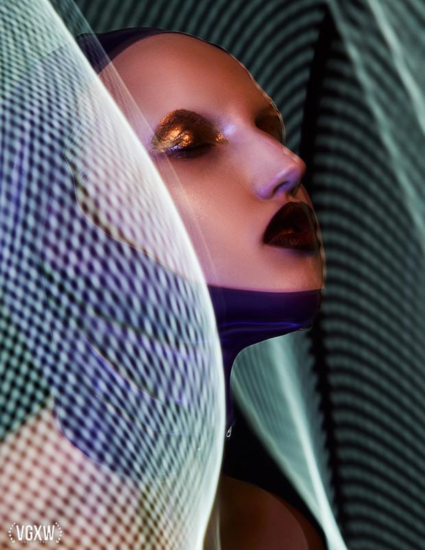 No Tears - Beauty Editorial by Natascha Gerschon for VGXW Magazine | virtuogenix.online