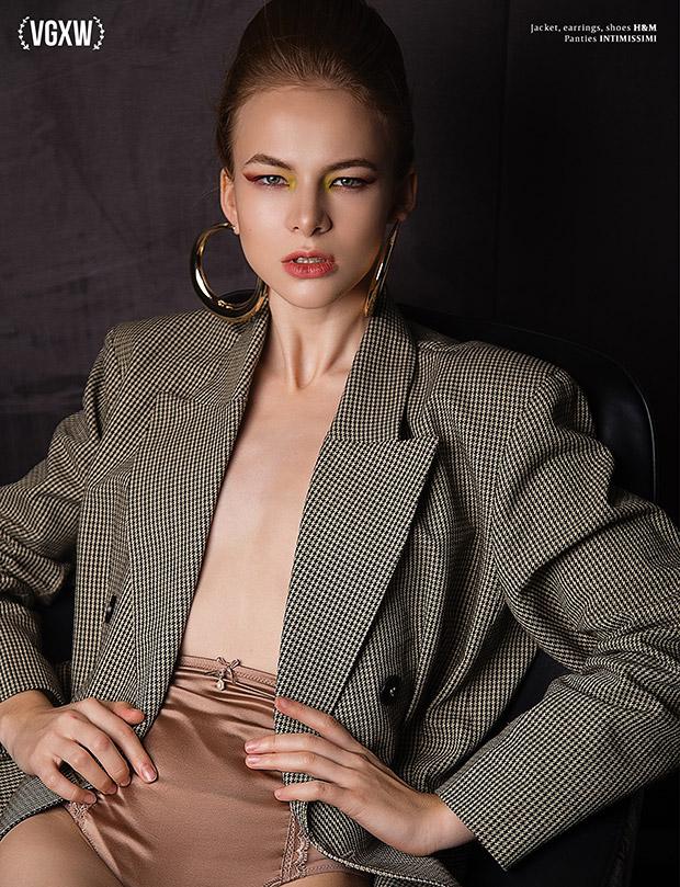 Style editorial by photographer Valery Semenchukova for VGXW Magazine
