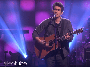 #VOTD: John Mayer Sings His Introspective New Single On Ellen