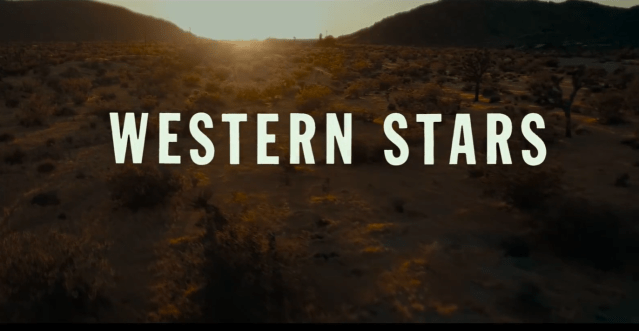 Western Stars: Bruce Springsteen's Cinematic Debut
