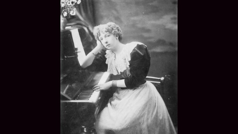 [1901] Cécile Chaminade plays – The Flatterer (Op.50) – Chaminade