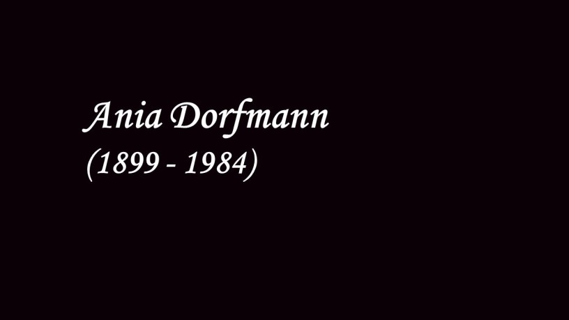 [1931] Ania Dorfmann plays – Rondo in E flat major (Op.11) – Hummel