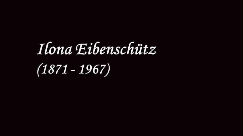 Ilona Eibenschütz plays – No.4 Intermezzo (8 Stücke, Op.76) – Brahms