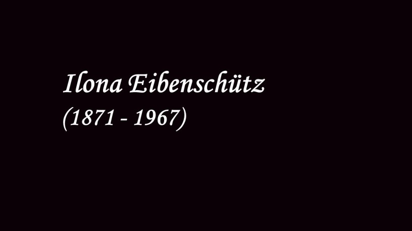 [1903] Ilona Eibenschütz plays – No.3 Ballade (6 Stücke, Op.118) – Brahms