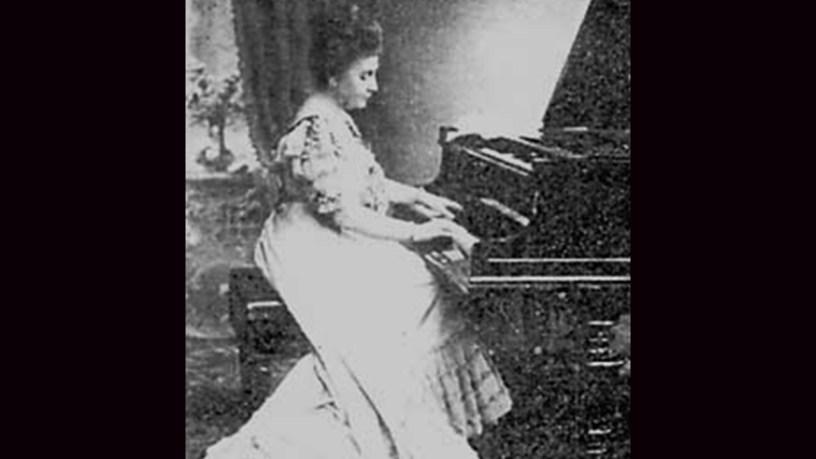 [1907] Vera Timanova plays – No.1 (2 Études de Concert, Op.1) – Schlözer