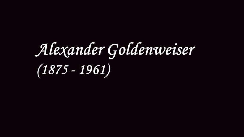 [1947] Alexander Goldenweiser plays – No.5 Méditation (18 Pieces, Op.72) – Tchaikovsky
