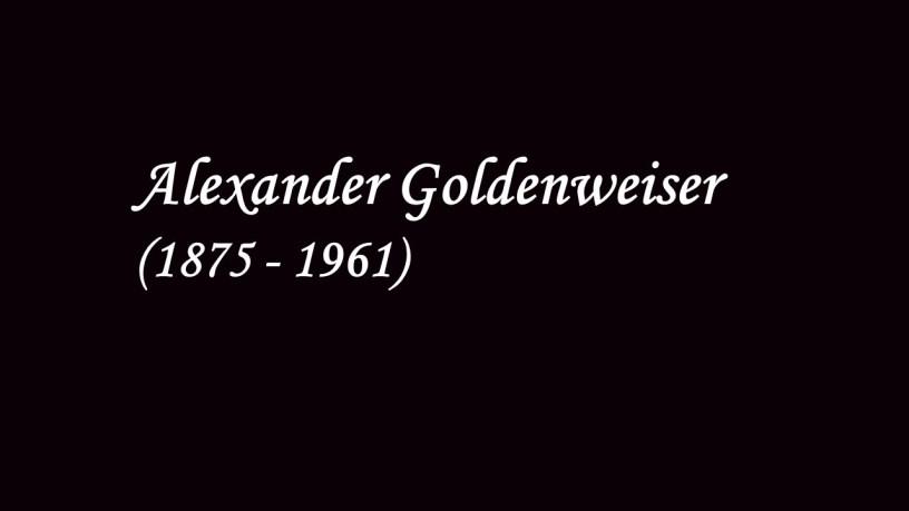 [1946] Alexander Goldenweiser plays – Mazurka Op.33-2, Op.33-4, Op.33-1 – Chopin