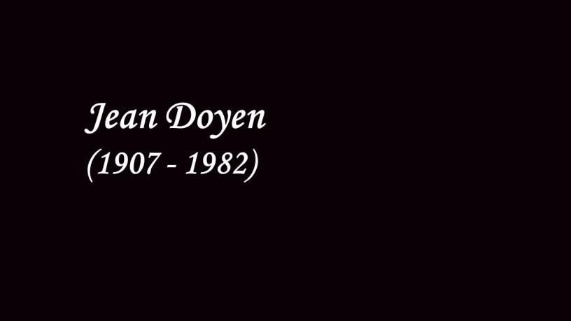 [1930] Jean Doyen plays – Valse No.6 (Op.64-1) – Chopin